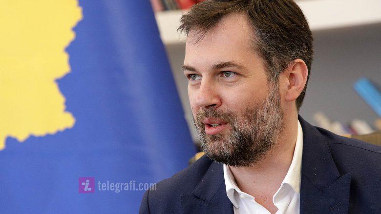 Ministri i MKRS-së, Hajrulla Çeku (Foto: Ridvan Slivova/Telegrafi)