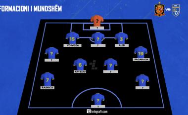 Spanjë – Kosovë, formacioni i mundshëm i Dardanëve – Challandes pritet të ndryshojë skemën dhe disa nga lojtarët