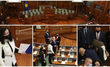 LIVE: Dita e konstituimit, legjislatura e tetë e Kuvendit