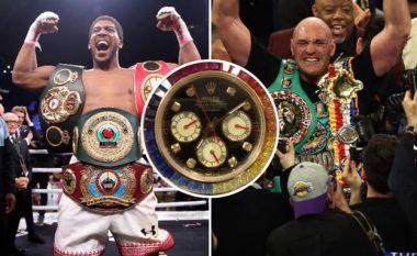 Si kishte arritur Tyson Fury të joshë Anthony Joshuan që të futet në sparing me të - ora Rolex ishte shpërblimi