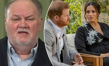 Reagon babai i Meghanit, Thomas Markle: Nuk mendoj se familja mbretërore janë racistë, jam penduar për veprimet e mia para dasmës së vajzës