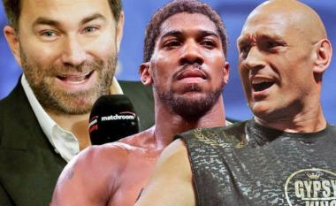 Arrihet mega marrëveshja që thyen çdo rekord në histori të boksit: Joshua dhe Fury do të fitojnë miliona euro nga dueli gjigant