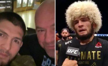 Dana White shuan shpresat e tifozëve, konfirmon pensionimin e përhershëm të Khabib Nurmagomedov nga UFC