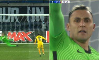 Messi dështon nga penalltia, mbron Navas