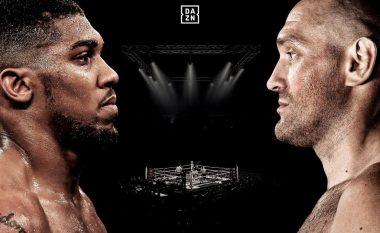 """""""Mezi po pres"""" – Anthony Joshua pothuajse konfirmon duelin për titullin e unifikuar me Tyson Furyn"""