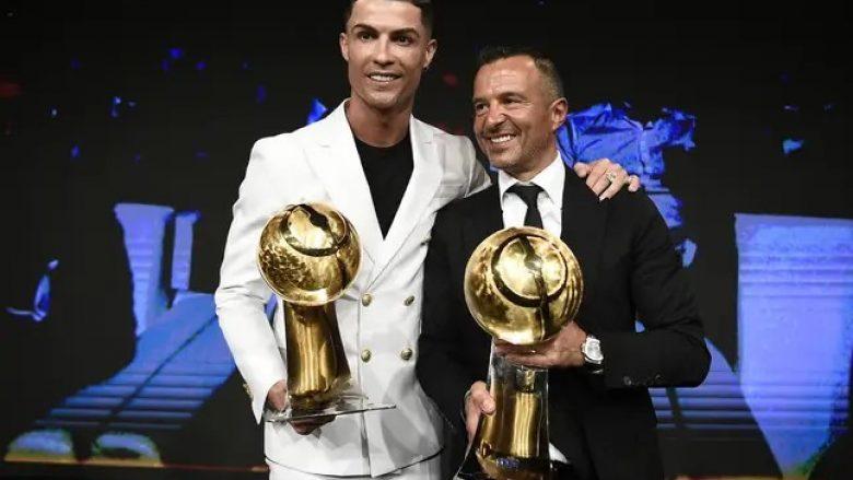 Ronaldo dhe agjenti Jorge Mendes
