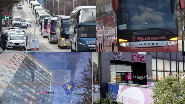 Protesta e transportuesve të udhëtarëve dhe pezullimi i përzgjedhjes së kryeshefave ekzekutiv – top ngjarjet e javës në ekonomi