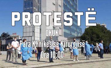 Protestë në QKUK, infermierët kërkojnë rritjen e pagesës për ndërrimin e natës