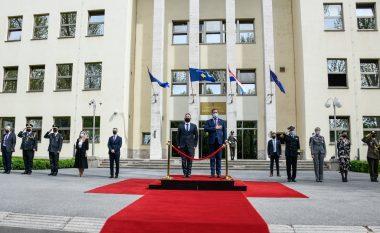 Ministri Mehaj u prit nga homologu i tij kroat, biseduan për avancimin e bashkëpunimit në industrinë e mbrojtjes