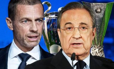 Florentino Perez i përmbledh të gjitha për Superligën: Kriza financiare, UEFA dhe FIFA, 12 klubet, transferimet dhe formati i ri i LK-së