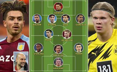 Me Haaland dhe Grealish, ky pritet të jetë formacioni i Man Cityt të Guardiolas në sezonin e ri