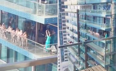 Pamjet u shpërndanë gjithandej: Arrestohen disa gra, pasi u zhveshën për të pozuar në ballkonin e një ndërtese në Dubai