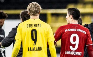 Lewandowski me fjalë të mëdha për Haaland: Do të bëhet më i miri në botë