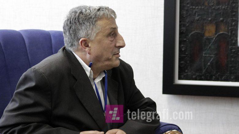 Në foto: Kryetari i SBASHK-ut, Rrahman Jashari