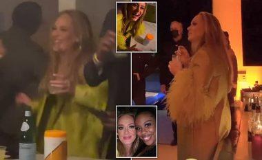 Adele shihet për herë të parë pas shumë muajsh, duket vitale dhe e lumtur pas divorcit