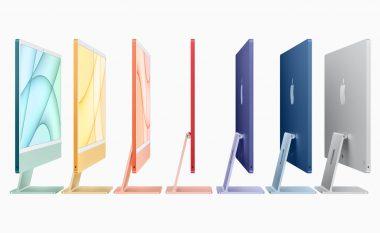 Apple prezantoi një iMac më të hollë me çip M1 dhe ngjyra të ndritshme