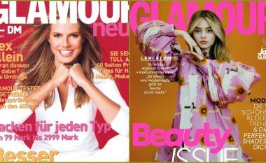 Si nëna, ashtu edhe vajza – Leni pozon për ballinën e Glamour dy dekada pas Heidi Klum