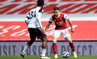 Arsenali vuan në shtëpi për një barazim ndaj Fulhamit