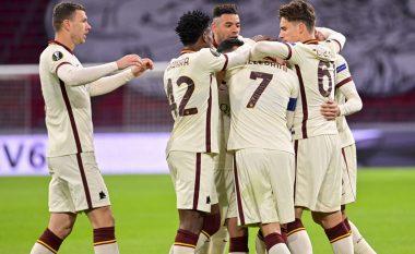 Roma fiton me rikthim në udhëtim ndaj Ajaxit