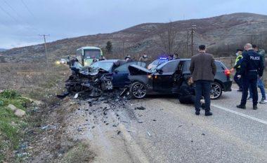 Aksident trafiku në rrugën Prishtinë-Gjilan, lëndohen shtatë persona