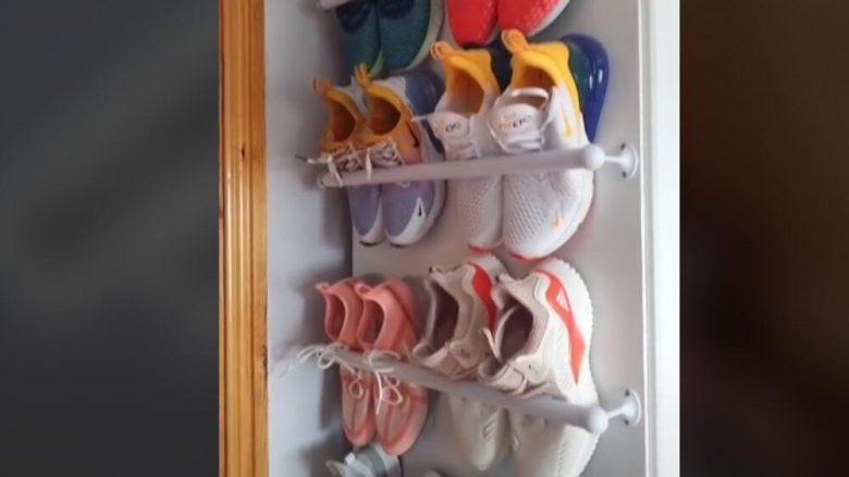 Këpucët tuaja janë të shpërndara gjithandej? Ekziston një zgjidhje për këtë rrëmujë!