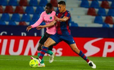 Barcelona vetëm barazim me Levanten në ndeshjen e gjashtë golave, zbehen gjasat për titull