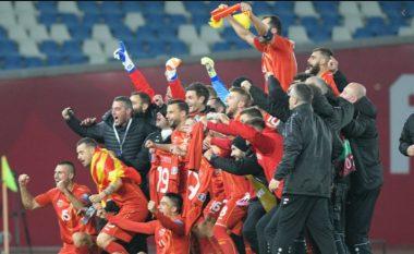 Maqedonia e Veriut niset për Euro 2020 me gjashtë shqiptarë