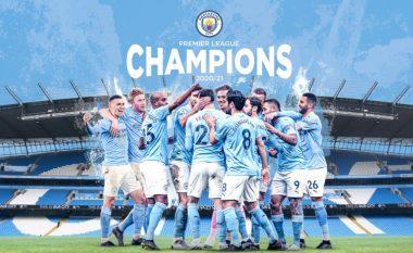 Manchester City shpallet kampion në Ligën Premier
