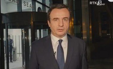 Kurti nga Brukseli: Dialogu mund të ketë më shumë sukses në muajt dhe vitet në vijim, sesa në dekadën që shkoi