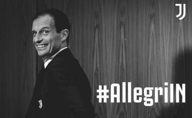 Zyrtare: Allegri emërohet trajner i ri i Juventusit