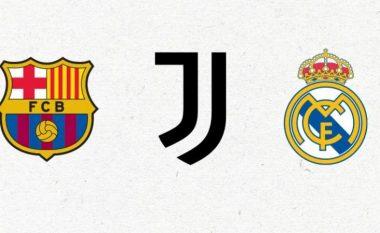 Real Madrid, Juventus dhe Barcelona me komunikatë zyrtare të përbashkët: Nuk largohemi nga projekti, UEFA të ndal kërcimet