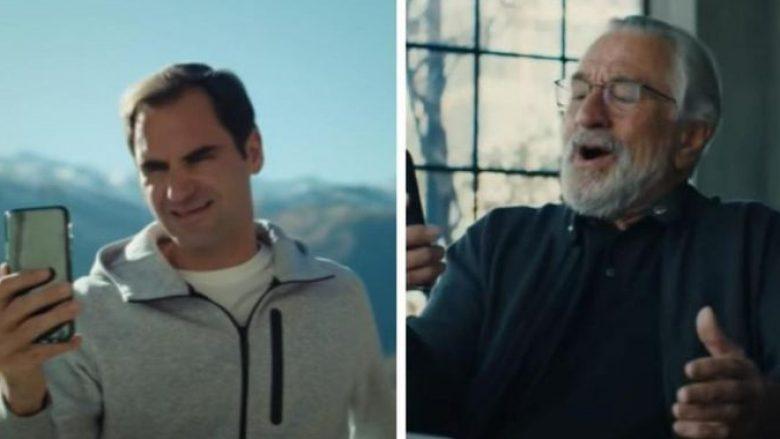 Robert De Niro dhe Roger Federer (Foto: YouTube)