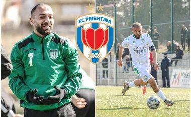 E kryer, Mendurim Hoti përforcimi i parë i Prishtinës