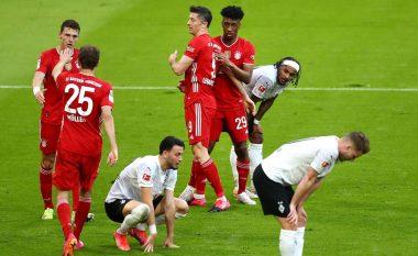 Bayern Munichu feston titullin me goleadë ndaj Monchengladbach – Lewandowski shënon het-trik