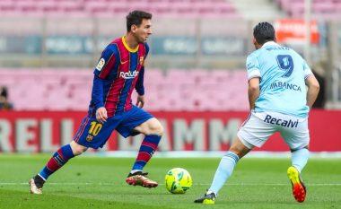 Santi Mina ia shuan Barcelonës shpresat për titull - Celta Vigo nënshtroi katalunasit në Camp Nou