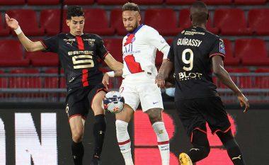 PSG bën hap fals në garën për titull, barazon ndaj Rennes