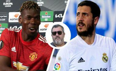 Agjenti Mino Raiola befason të gjithë, flet rreth një shkëmbimi të madh Pogba-Hazard