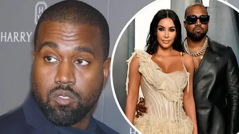 Kanye West dhe Kim Kardashian Foto: Daily Mail