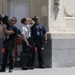 Policët belgë që ruajtën Bidenin në Bruksel nga ndonjë sulm i mundshëm me dron – ata përdorën pushkë unike