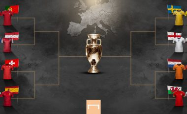 Orari i ndeshjeve të 1/8 në Euro 2020, katër ditë radhazi na presin super ndeshje