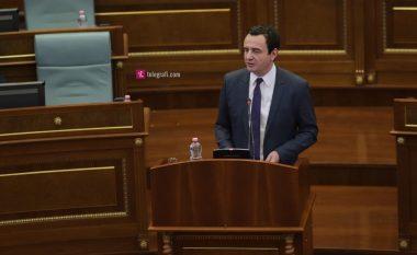 Dialogu me Serbinë, Kurti kritika për qeveritë e kaluara dhe Bashkimin Evropian