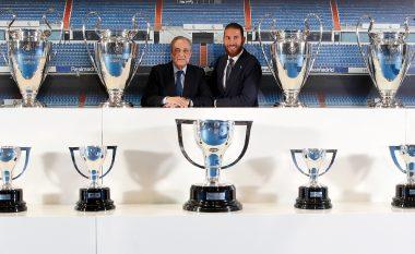 Florentino Perez për lamtumirën e Ramosit: Nuk është një ditë e lehtë, Real Madrid do të jetë gjithmonë shtëpia juaj