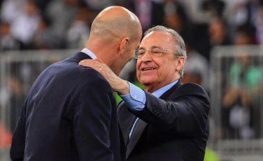 Florentino Perez: Nuk e kam lexuar letrën e lamtumirës, por atë nuk e shkroi Zidane