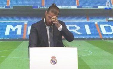 Ramos shpërthen në lot për largimin nga Real Madridi: Nuk është lamtumirë, por mirupafshim