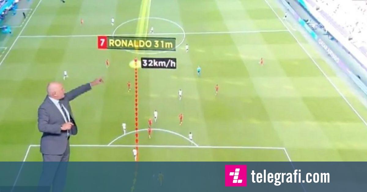 Cristiano Ronaldo  Sa shpejt vrapoi ylli i Portugalisë ndaj Gjermanisë në Euro 2020