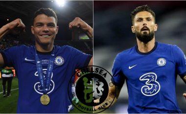 Zyrtare: Thiago Siva dhe Oliveri Giruod mbeten te Chelsea