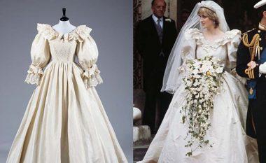 Tani mund të shihni fustanin e nusërisë së Princeshës Diana në jetën reale