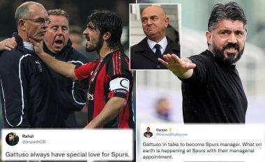 Tottenhami anulon emërimin e Gattusos si trajner, pasi tifozët nuk e duan