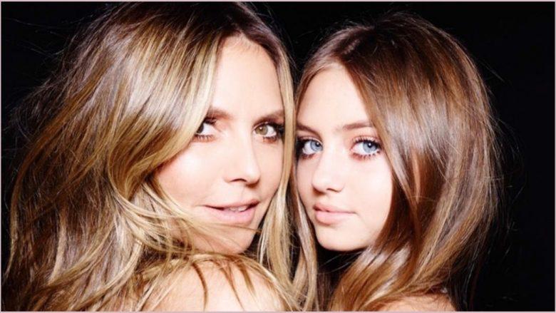 Heidi Klum dhe vajza e saj, Leni (Foto: Instagram/leniklum)