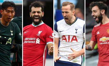 Zgjidhet formacioni më i mirë i vitit në Ligën Premier – dominohet nga lojtarët e Man Cityt, asnjë i Chelseat